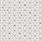 Geometric elegant seamless pattern background Stock Photos