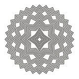 Geometric Element Lines. Trendy geometric Element Vector Lines shape. Design Element black graphic lines. stars, snowflakes, polygon Royalty Free Stock Image