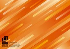 Geometric elements orange color abstract background modern design vector illustration
