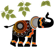 Geometric Elephant Stock Image