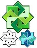 Geometric Emblem Royalty Free Stock Photos