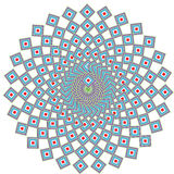 Geometric ethnic mandala Stock Images