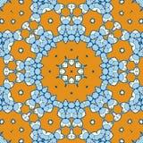 Geometric ethnic oriental ikat-like seamless pattern tribal stylized design for fabric, carpet, clothing, wrapping. Batik fabric Royalty Free Stock Photos