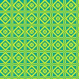 Geometric ethnic ornament, seamless pattern. Vector illustration Stock Photo
