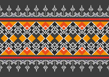 Geometric Ethnic pattern Stock Images