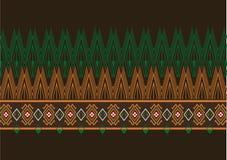 Geometric Ethnic pattern Stock Photo