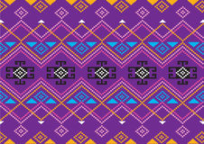 Geometric Ethnic pattern Royalty Free Stock Photography