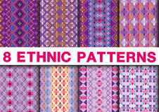 Geometric Ethnic pattern Stock Image