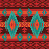 Geometric ethnic pattern Royalty Free Stock Photo