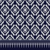 Geometric Ethnic pattern. Design for background or wallpaper royalty free illustration