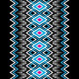Geometric ethnic pattern traditional Royalty Free Stock Photography