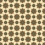 Geometric ethnic seamless pattern. Abstract aztec background. Digital or wrapping paper Stock Photography