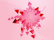 Geometric explosion Royalty Free Stock Photos