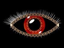 Geometric eye Royalty Free Stock Photography