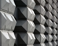 Geometric facade Royalty Free Stock Photo