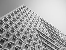 Geometric facade Stock Images