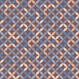 Geometric fashion pattern. Fashion design geometric pattern - trendy vector. Seamless texture Stock Photography