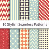 Geometric Fashion patterns Stock Photos