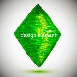Geometric figure ,rhombus Royalty Free Stock Photos