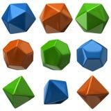Geometric figures Stock Photos