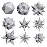 Geometric figures Royalty Free Stock Photos