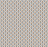 Geometric fish scales chinese seamless pattern. Wavy roof tile background for design. Modern repeating stylish texture. Flat patte. Geometric fish scales chinese Royalty Free Stock Photo