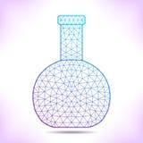 Geometric flask. Stock Image