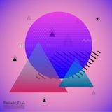 Geometric Flat Pattern. royalty free illustration