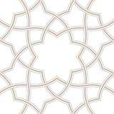 Geometric floral light grey background, Arabic pattern, vector illustration