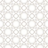 Geometric floral light grey background, Arabic pattern, Stock Images