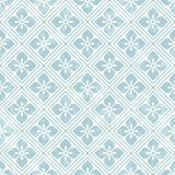 Geometric floral pattern in retro style Stock Photography