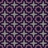 Geometric floral seamless pattern Stock Photos