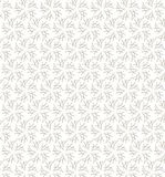 Geometric floral seamless pattern made of gray lines. Can be use. D these patterns as banners, business cards, festive decorations, greeting cards and for your Stock Photos