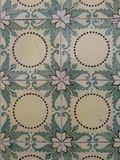 Geometric and floral tiles Royalty Free Stock Photo