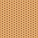 Geometric flower pattern Royalty Free Stock Photography