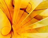 Geometric fractal design Stock Image