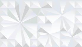 Geometric fractal monochrome pattern Royalty Free Stock Photos