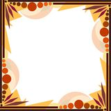 Geometric Frame Brown Stock Images