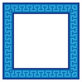 Geometric frame (vector) Royalty Free Stock Photos