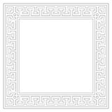 Geometric frame (vector) Stock Image