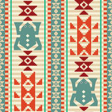 Geometric frogs pattern Royalty Free Stock Photo
