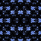 Geometric Futuristic Dark Pattern Royalty Free Stock Images