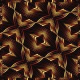 Geometric Futuristic Dynamic Pattern Royalty Free Stock Photos