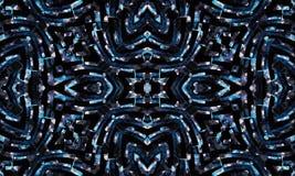 Geometric Futuristic Seamless Pattern Royalty Free Stock Photos