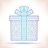 Geometric gift. Stock Photos
