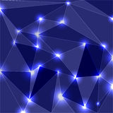 Geometric Glowing Background Stock Photos