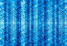 Geometric Glowing  Background Stock Image