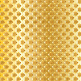 Geometric gold royal pattern. Gold geometric royal pattern with gold shapes of the squares on golden background. Royal pattern. Vector file with layers. Digital stock illustration