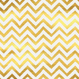Geometric golden chevron seamless pattern Royalty Free Stock Photos