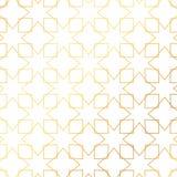 Geometric golden lines pattern background stock illustration